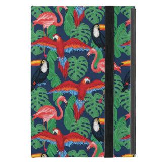 Tropical Birds In Bright Colors Case For iPad Mini