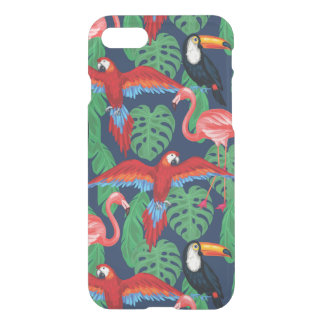 Tropical Birds In Bright Colors iPhone 8/7 Case