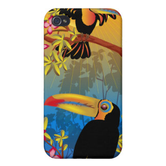 Tropical Birds iPhone 4/4S Case