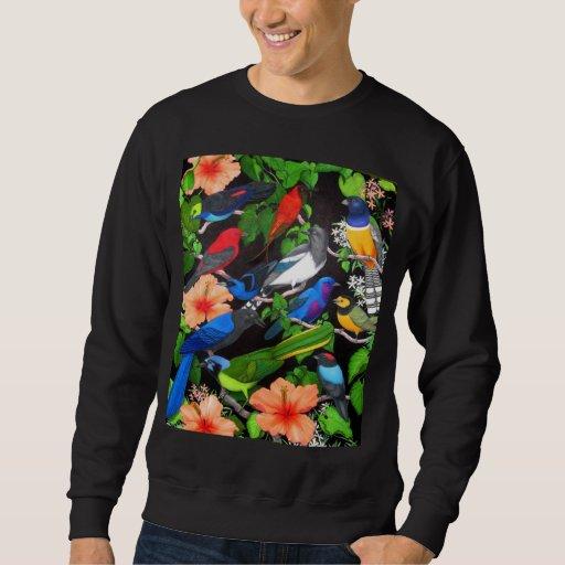 Tropical Birds of Mexico Sweatshirt