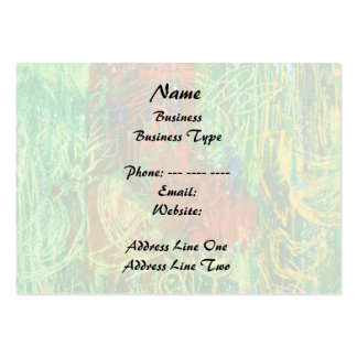 Tropical Birds Picture. Large Business Cards (Pack Of 100)