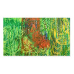 Tropical Birds Picture. Business Card Templates