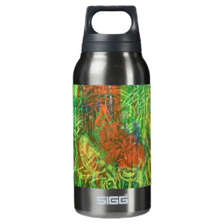 Tropical Birds Picture. Insulated Water Bottle
