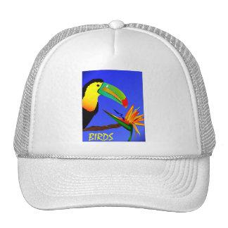 Tropical Birds Trucker Hat