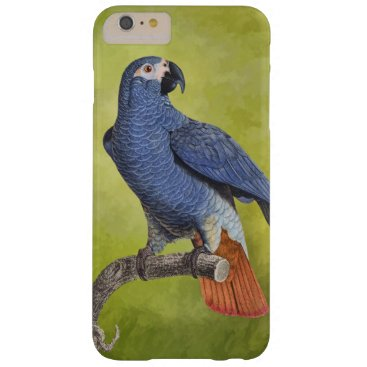 Tropical Birds Vintage Parrot Illustration Barely There iPhone 6 Plus Case