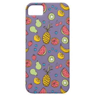 Tropical Blast in Purple iPhone SE/5/5s Case