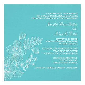Tropical Bliss Wedding Invitation