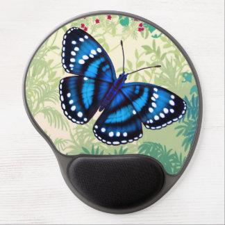 Tropical Blue Butterfly Gel Mousepad