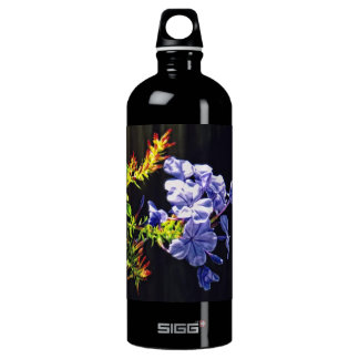 Tropical Blue Flower SIGG Traveler 1.0L Water Bottle
