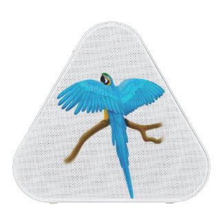 Tropical Blue Gold Macaw Parrot Pieladium Speaker