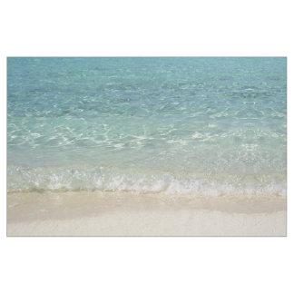 Tropical Blue Ocean Water Fabric