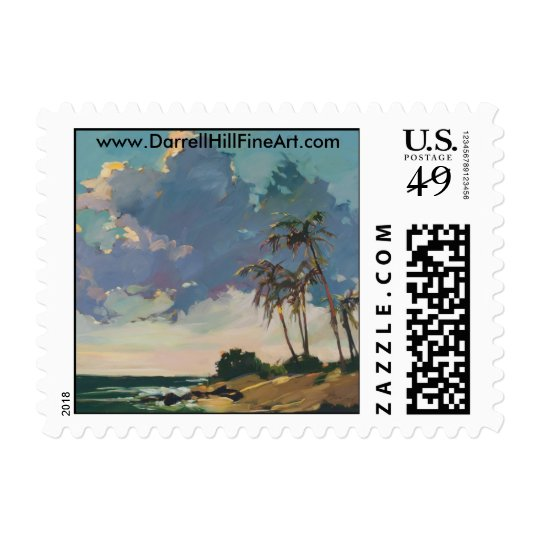 Tropical Blue Postage