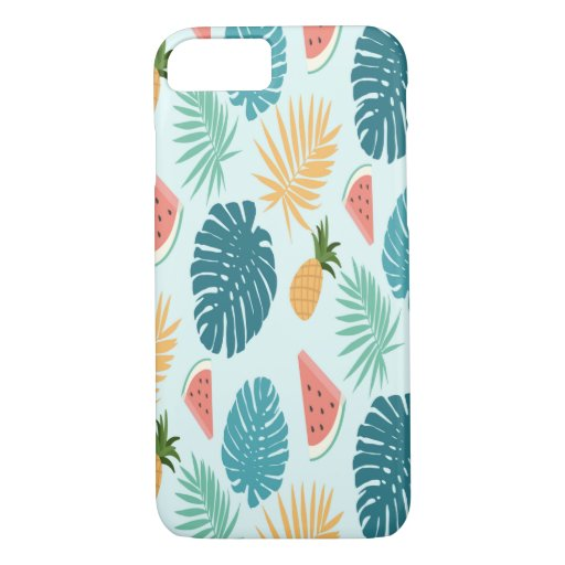 Tropical Blue Watermelon Phone Case