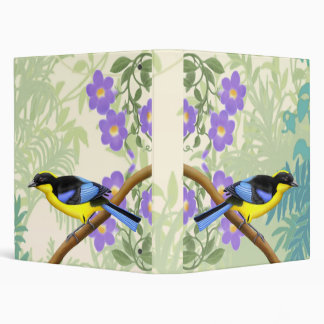 Tropical Blue Winged Tanager Binder