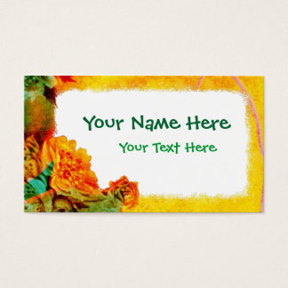 Tropical Borders business card template