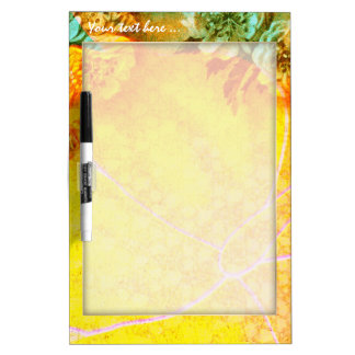 Tropical Borders dry erase board