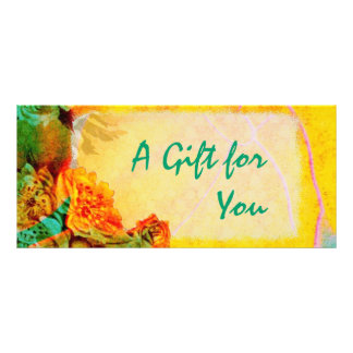 Tropical Borders Gift Certificate template