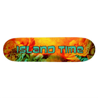 Tropical Borders Island Time skateboard