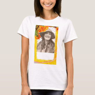 Tropical Borders photo template T-Shirt