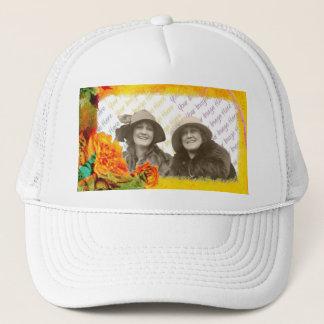 Tropical Borders photo template Trucker Hat