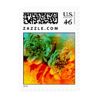 Tropical Borders postage stamp