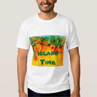 Tropical Borders t-shirt template