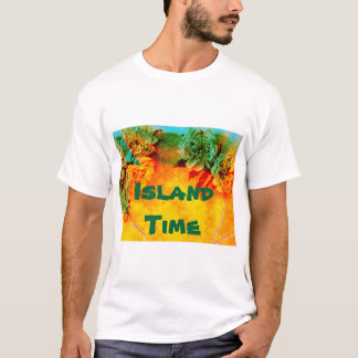 Tropical Borders t-shirt template