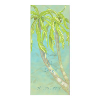 Tropical Breeze Aruba Invitation