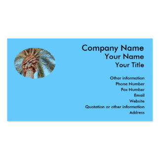 Tropical Breeze - business card template
