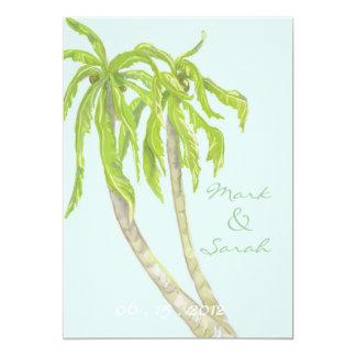 Tropical Breeze Invitation