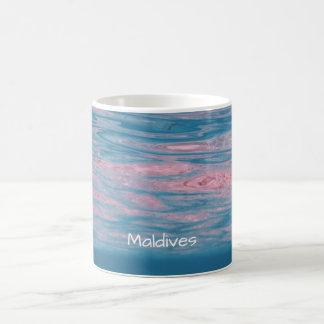 Tropical Breeze Maldives Summer Ocean Waves Coffee Mug