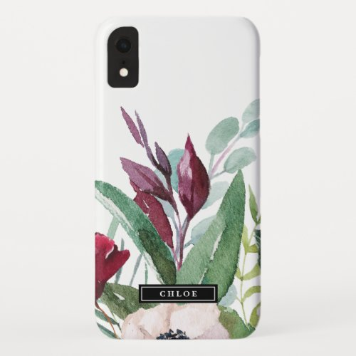 Tropical Breeze Personalized Name Phone Case