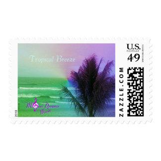 Tropical Breeze Postage Stamp