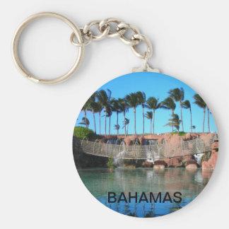 Tropical Bridge Keychain