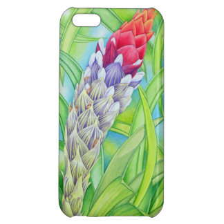 Tropical Bromeliad Case For iPhone 5C