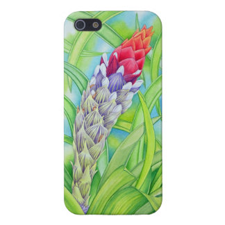 Tropical Bromeliad Cover For iPhone SE/5/5s