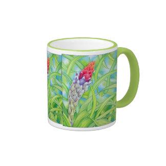 Tropical Bromeliad Coffee Mugs