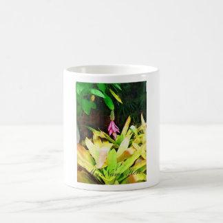 Tropical Bromeliad - Walk in the Garden Coffee Mugs