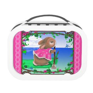 Tropical Bunny Yubo Lunchbox
