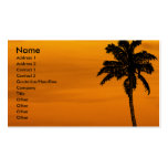 Tropical | business card