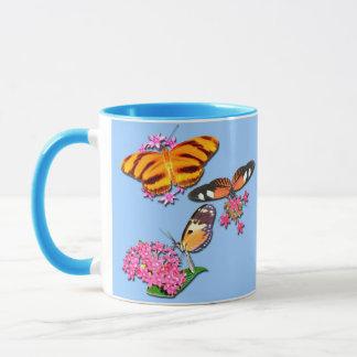 Tropical Butterflies Mug