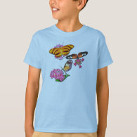 Tropical Butterflies T-Shirt