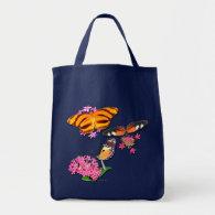 Tropical Butterflies Tote Bag
