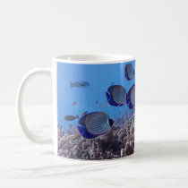 Tropical Butterfly Fish Coffee Mug