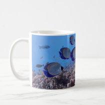 Tropical Butterfly Fish Coffee Mug
