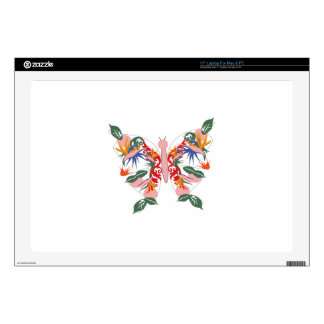 Tropical Butterfly Skin For Laptop