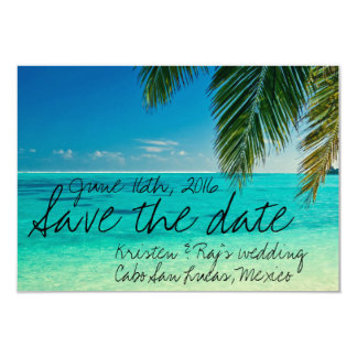 Tropical Cabo San Lucas, Mexico Save the Date Card