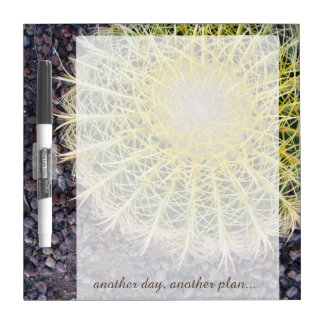 Tropical Cactus any Text on any Color Dry Erase Boards