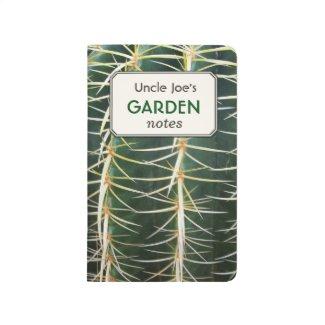 Tropical Cactus Custom Text Label