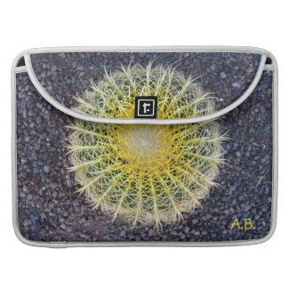 Tropical Cactus Gravel Green Yellow any Initials